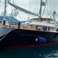 refitting S/Y LUNA